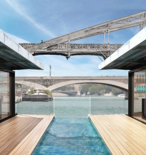 A New Floating Hotel in Paris